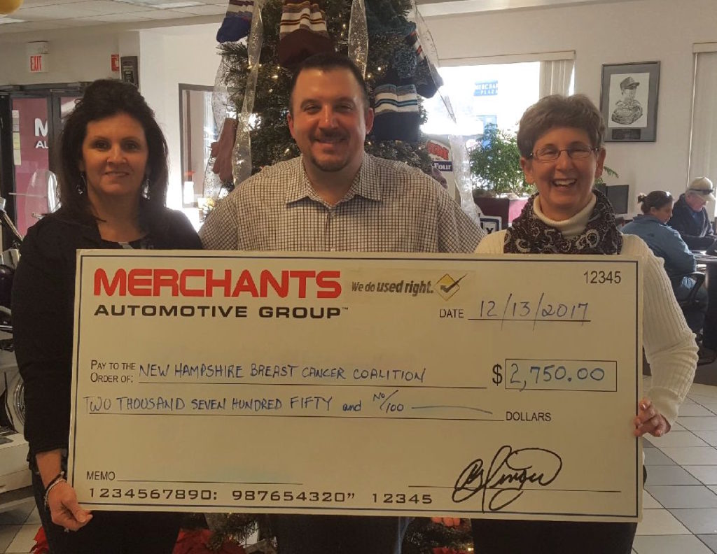 merchants automotive group supports ssf new hampshire breast cancer coalition new hampshire. Black Bedroom Furniture Sets. Home Design Ideas